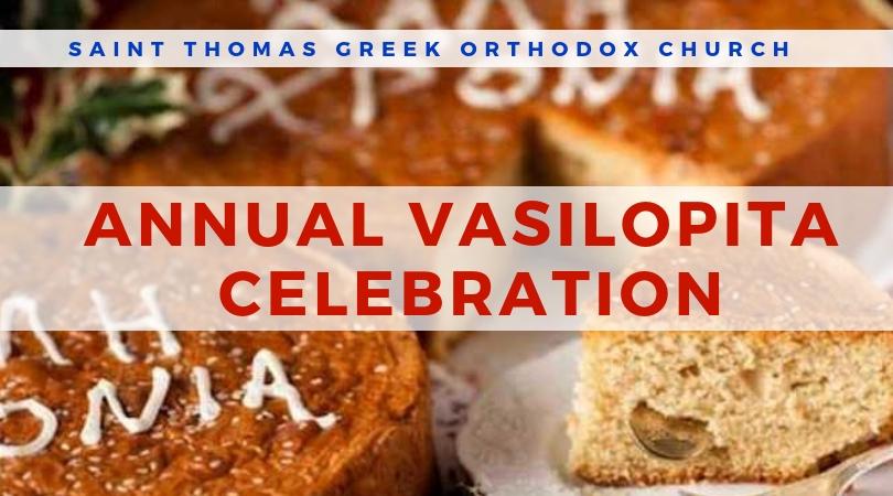 Annual Vasilopita Celebration